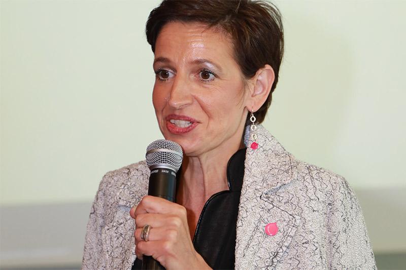 Indra Collini NEOS Spitzenkandidatin Landtagswahl