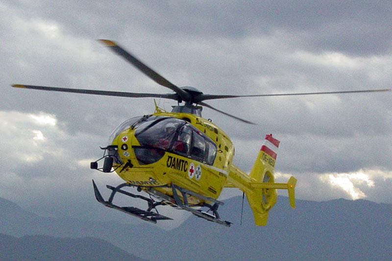 Hubschrauber gefahrlich
