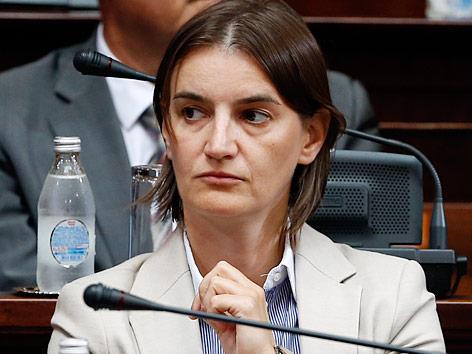Ana Brnabić Serbien