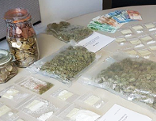 Drogenschmugglerin Festnahme