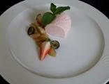 Joghurt-Erdbeermousse