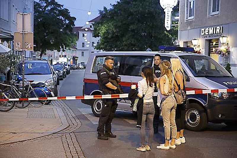 Polizeieinsatz Mariahilferstraße