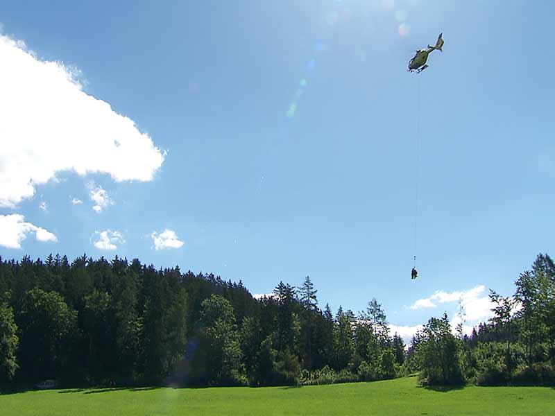ÖAMTC Hubschrauberübung Längsee