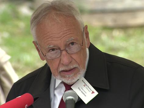 Ljubelj spominska KZ izpostava Peter Gstettner