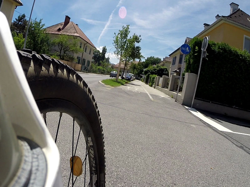 Fahrrad Radfahren Rad Radwegenetz Klagenfurt