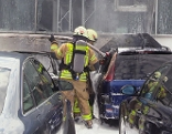 Autobrand in Dornbirn