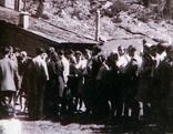 Jüdische Flüchtlinge auf dem Weg über den Krimmler Tauern im Jahr 1947