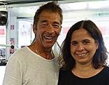 Schlagerstar Gilbert mit Gabi Kerschbaumer