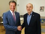 Bürgermeister Wegscheider und Vizebürgermeister Kratzer