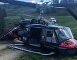 Bruchlandung Hubschrauber