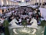 Fete Imperial Saal mit Gästen