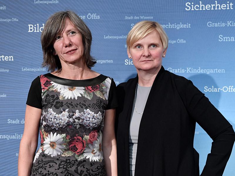 Sandra Frauenberger Birgit Hebein