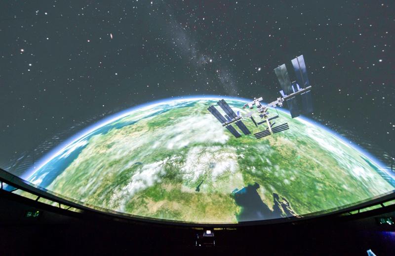 Planetarium innen