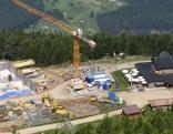 Baustelle am Patscherkofel