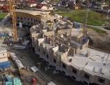Baustelle des anthroposophischen Seniorenheims in Puch