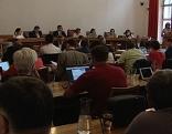 Sitzung des Salzburger Landtags im Sitzungssaal des Salzburger Gemeinderates im Salzburger Rathaus
