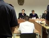 46 jähriger Angeklagter bei Prozess wegen Anstiftung zum Mord im Salzburger Landesgericht