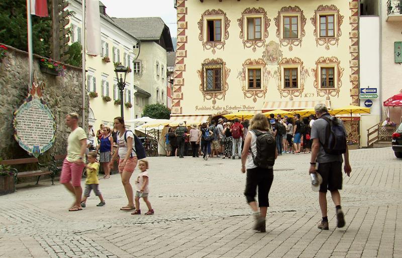 St. Wolfgang im Sommer
