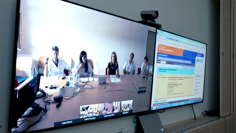 Videokonferenz Brustgesundheitszentrum