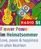 Der Heimatsommer auf Flower-Power-Tour