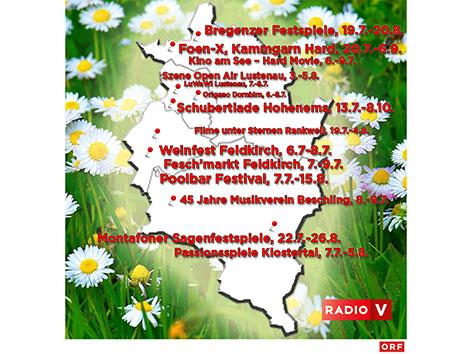 Die Vorarlberger Sommer-Festivals