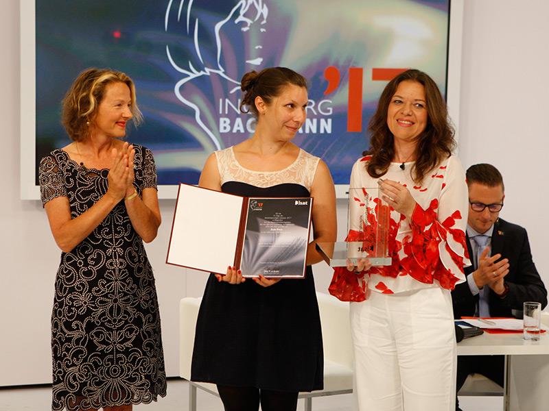 Preisverleihung 2017 Gianna Molinari