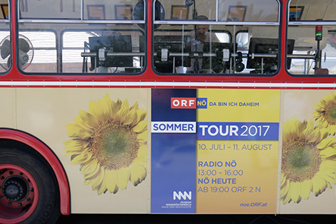 Sommertour-Bus