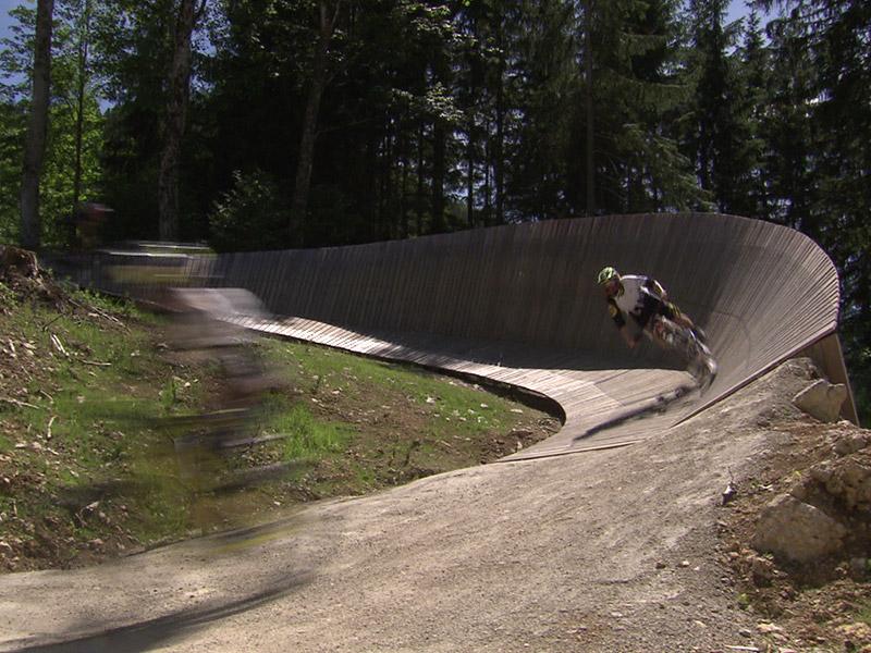 Bikepark in Hollenstein an der Ybbs