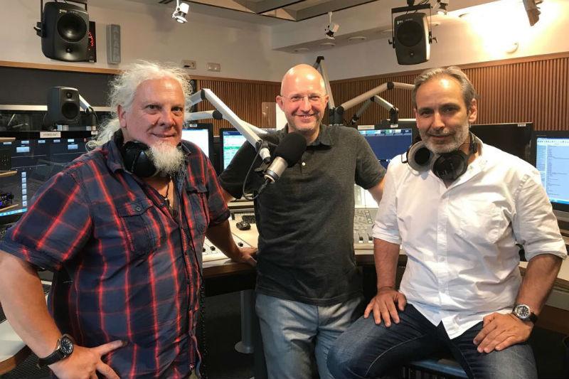 Die Bikercrew von Radio Wien