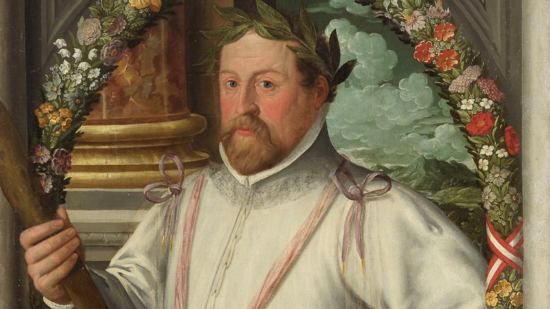 Erzherzog Ferdinand II Gemälde Öl auf Leinwand