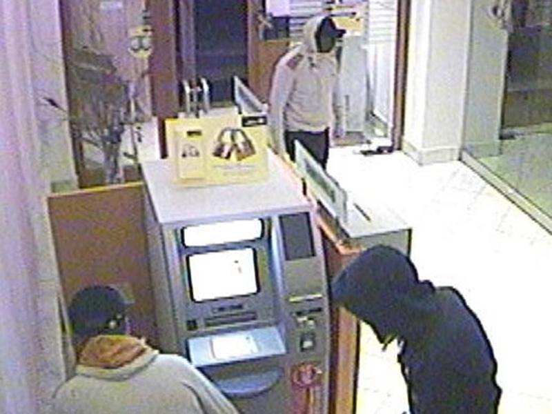 St. Stefan Bankomatendiebstahl Bande drei Männer