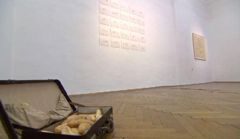 """Ausstellung """"Glücksmuster"""" von Robert Gabris im Wiener Volkskundemuseum"""