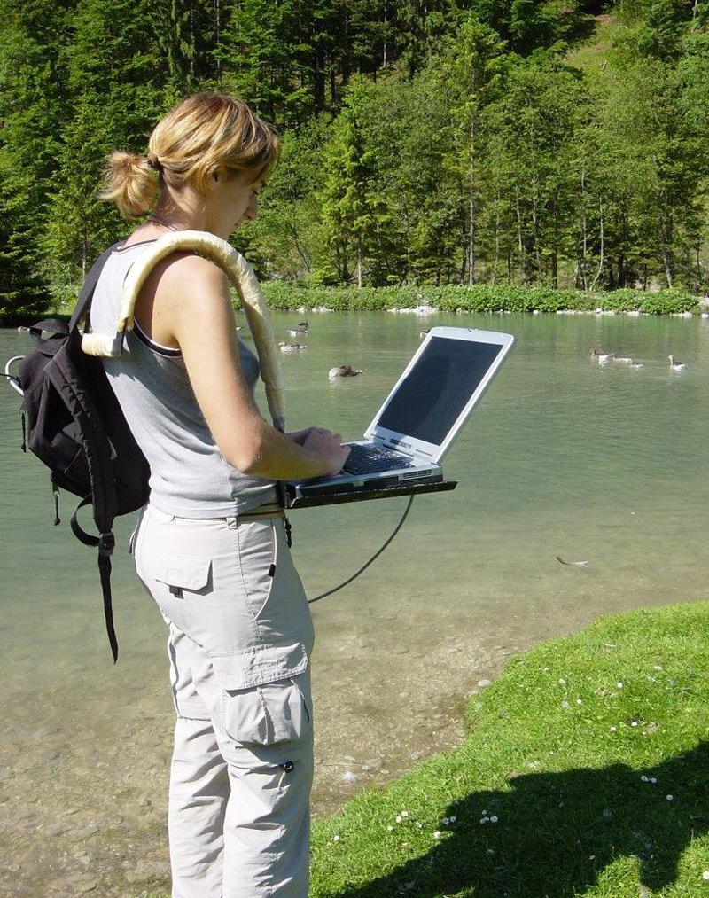 Graugänse-Projekt, Biologin Claudia Wascher