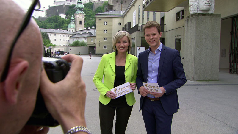 Romy Seidl und Tobias Pötzelsberger