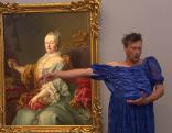 Tänzer in der Galerie