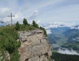Gipfel erreicht und Blick nach Norden