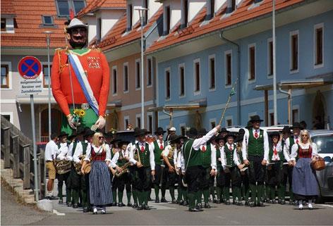 Bürgergarde Murau, Samsonfest