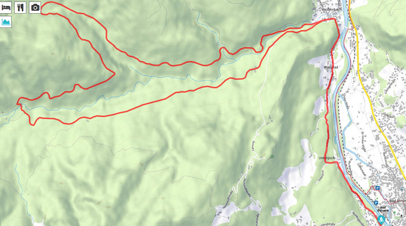 Tour Weißenbachtal