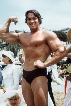 Jugendfoto von Arnold Schwarzenegger