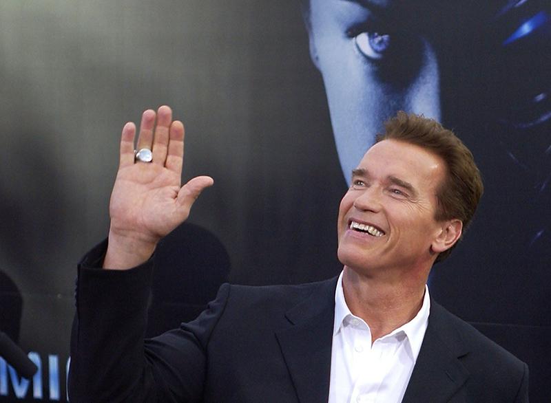 """""""Terminator 3"""" Premiere in Berlin, Schwarzenegger"""
