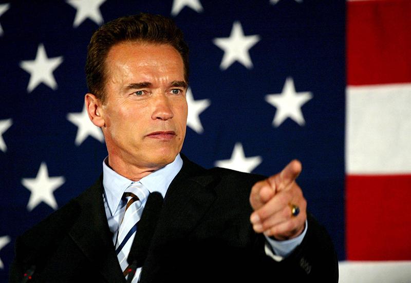 Schwarzenegger, Gouverneur
