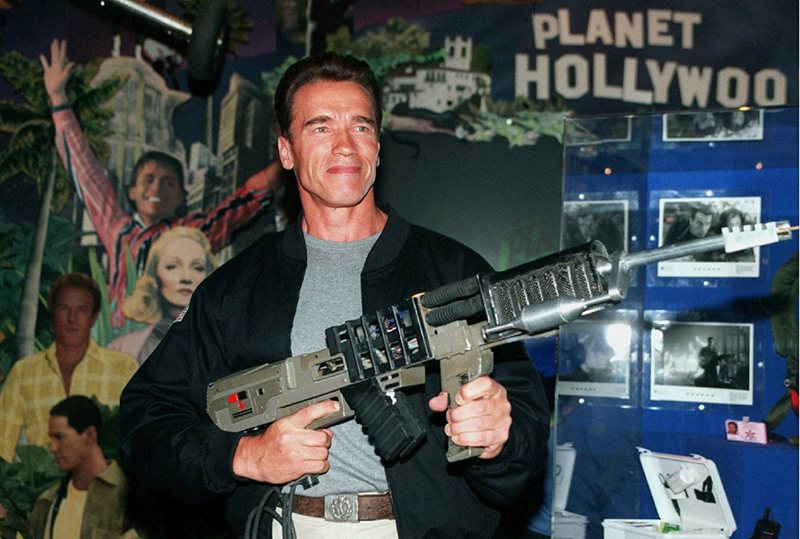 Arnold Schwarzenegger, Film Eraser