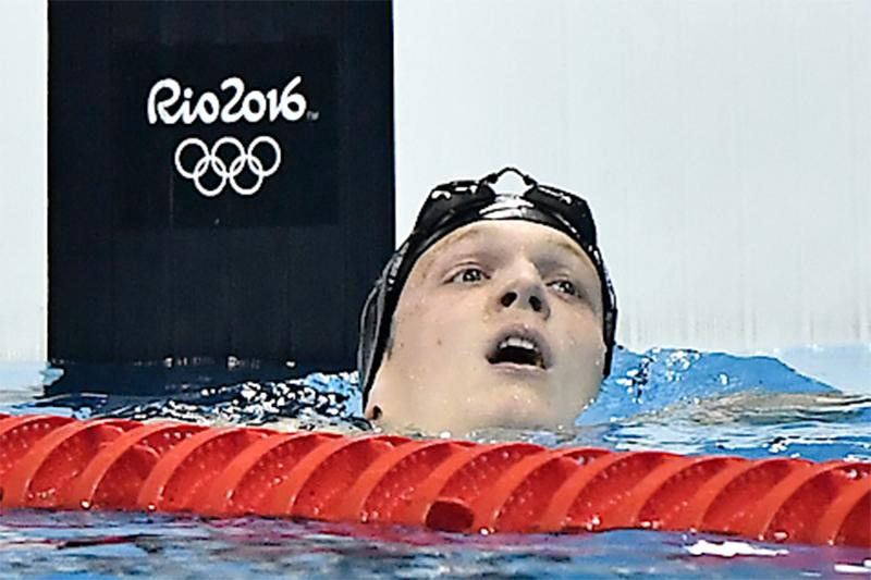 Felix Auböck Olympische Spiele Rio 2016 400 Meter Kraul