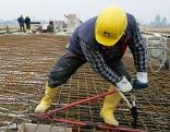 Bauarbeiter Baustelle