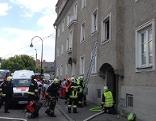 Brand Krems Wohnung Kinder gerettet