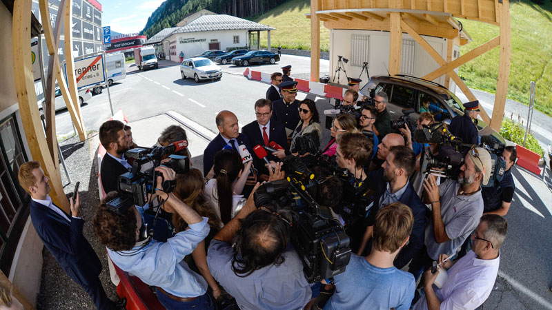 Sobotka am Brenner: Mehr Polizei für die Grenze?