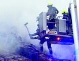 Brand in Wirtshaus in Neukirchen an der Vöckla