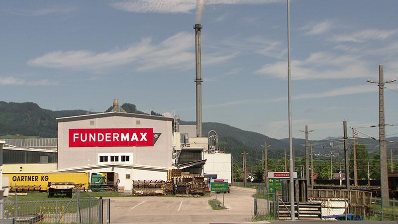 Fundermax Fabrik außen