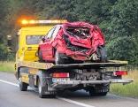 Unfallauto des ums Leben gekommenen 29-Jährigen
