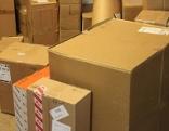 Pakete in Zimmer
